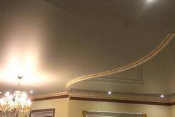 Натяжные потолки с установкой